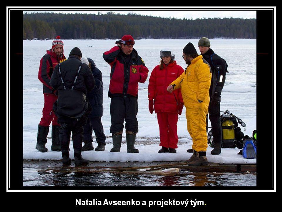 Natalia Avseenko a projektový tým.