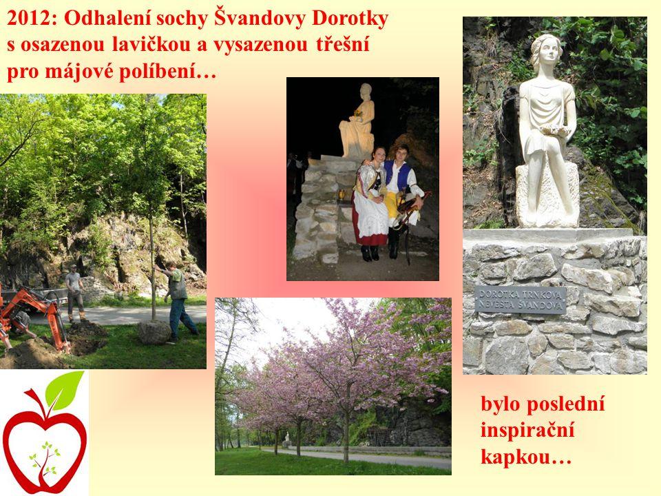 2012: Odhalení sochy Švandovy Dorotky