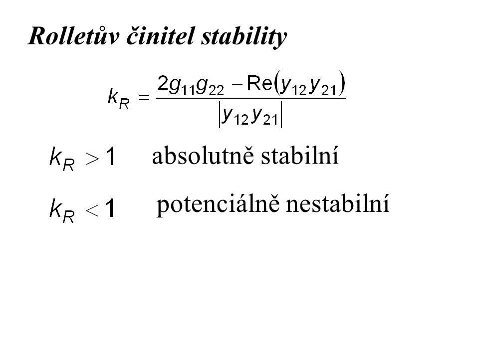 Rolletův činitel stability