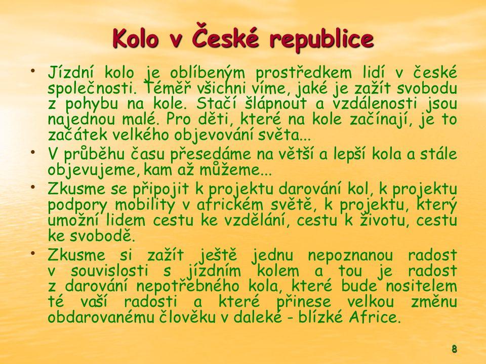 Kolo v České republice
