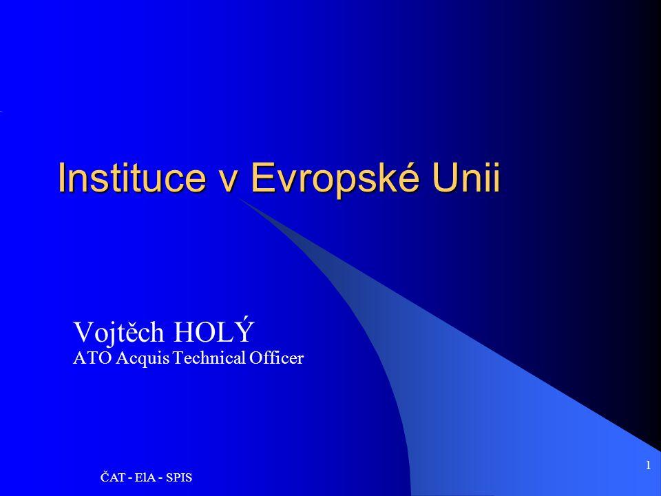 Instituce v Evropské Unii
