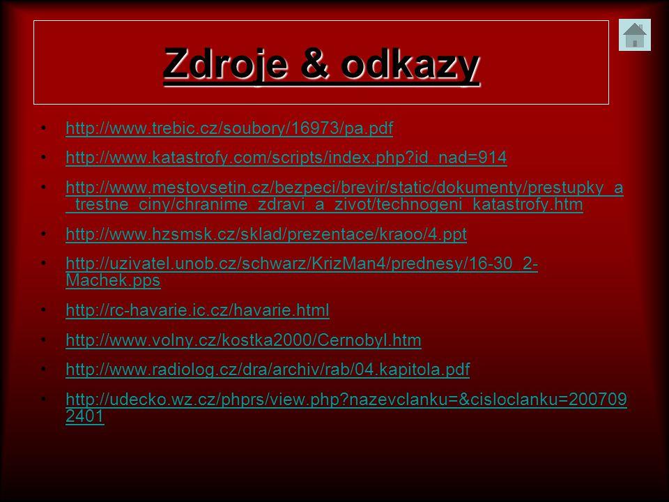 Zdroje & odkazy http://www.trebic.cz/soubory/16973/pa.pdf
