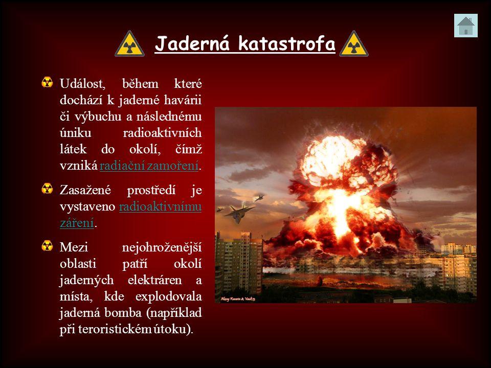 Jaderná katastrofa