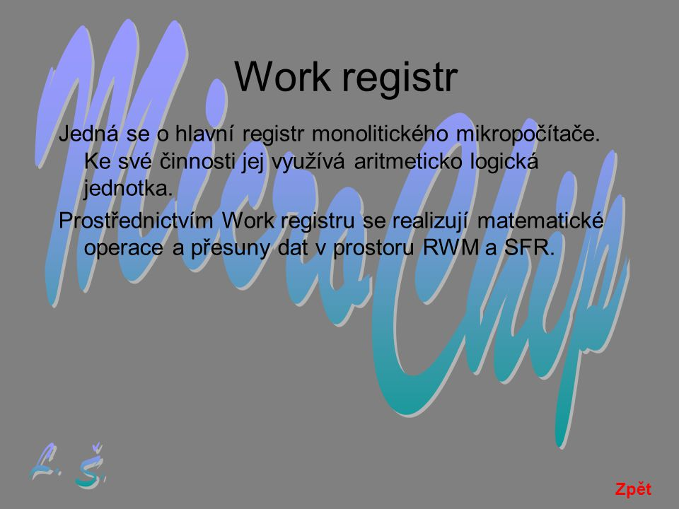 Work registr MicroChip L. Š.