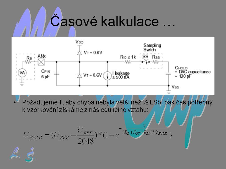 Časové kalkulace … MicroChip L. Š.
