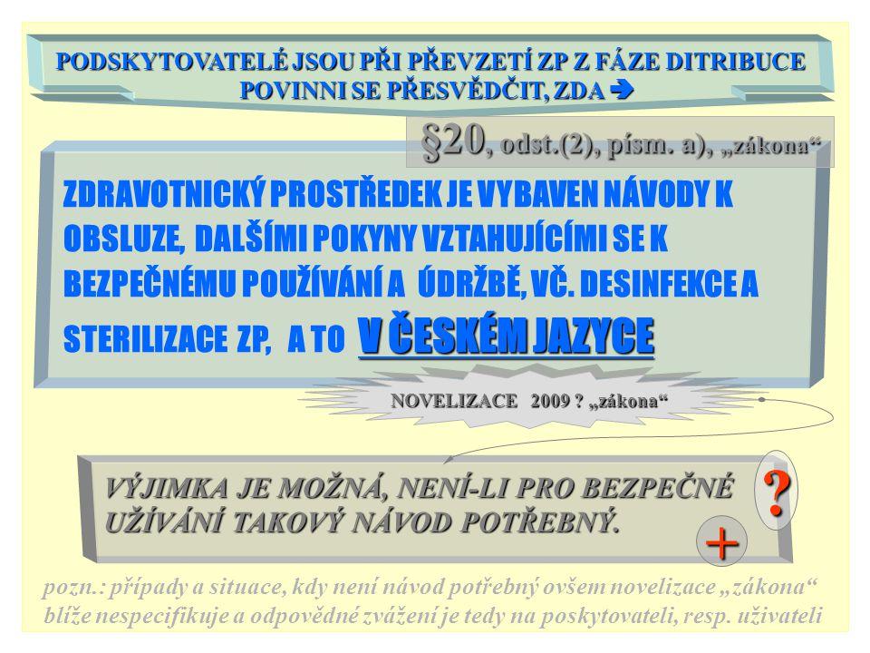 """+ §20, odst.(2), písm. a), """"zákona"""