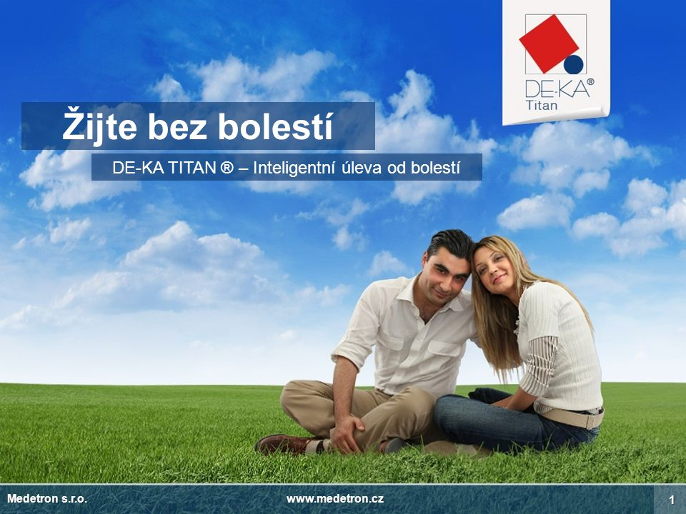 DE-KA TITAN ® – Inteligentní úleva od bolestí