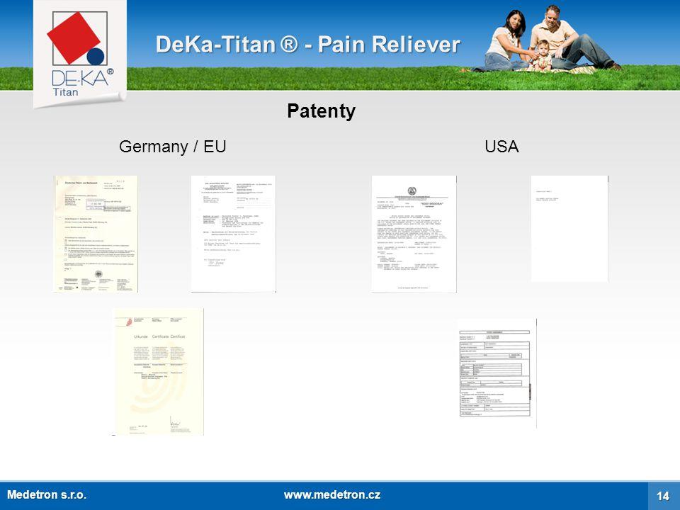 DeKa-Titan ® - Pain Reliever