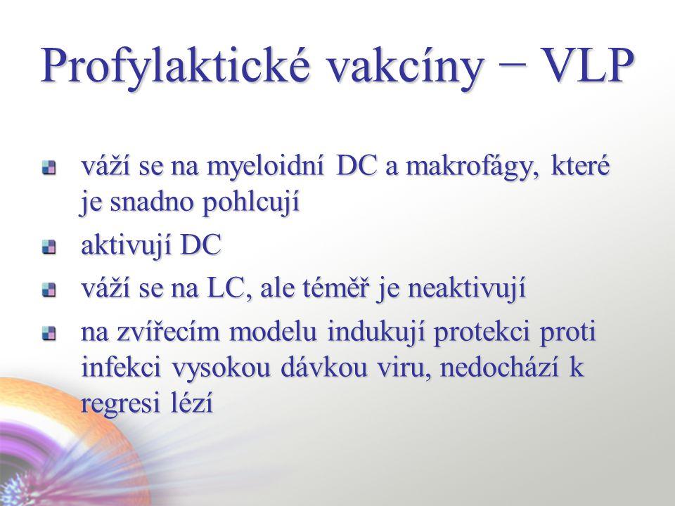 Profylaktické vakcíny − VLP