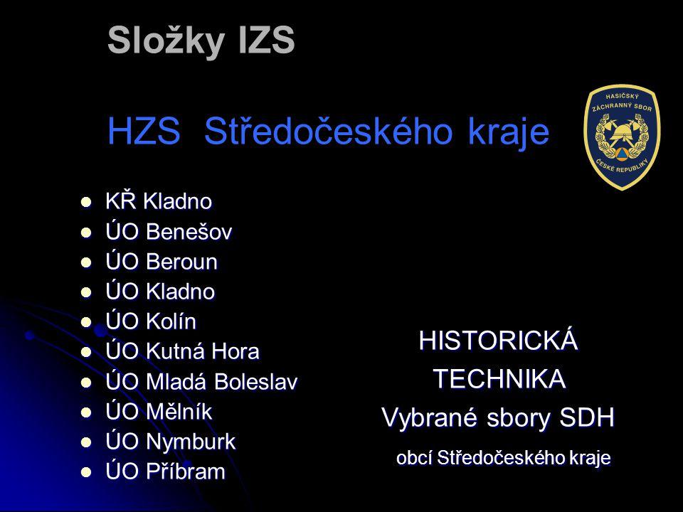Složky IZS HZS Středočeského kraje
