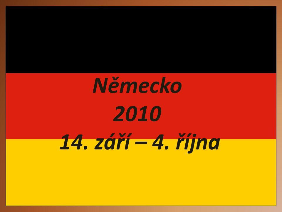 Německo 2010 14. září – 4. října