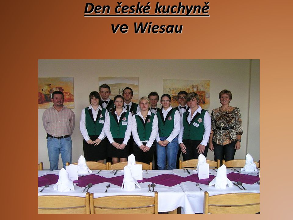 Den české kuchyně ve Wiesau