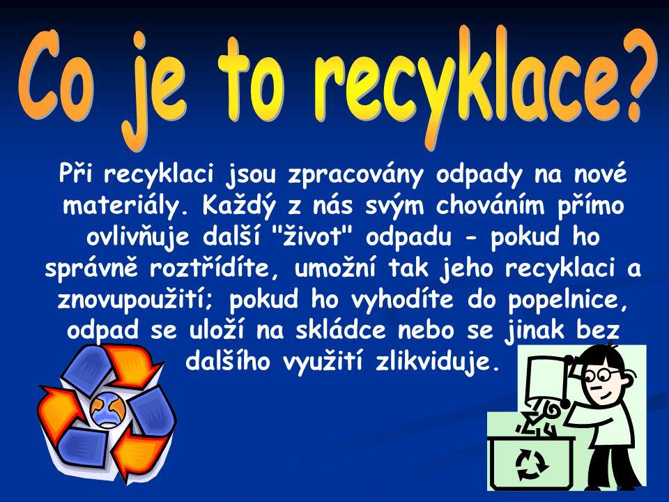 Co je to recyklace