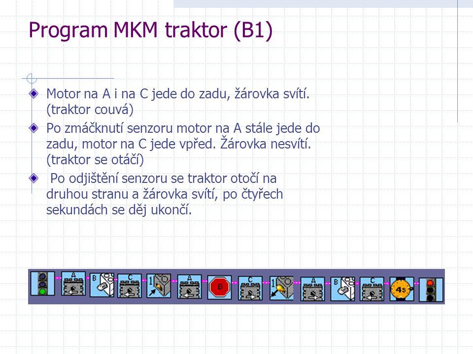 Program MKM traktor (B1)
