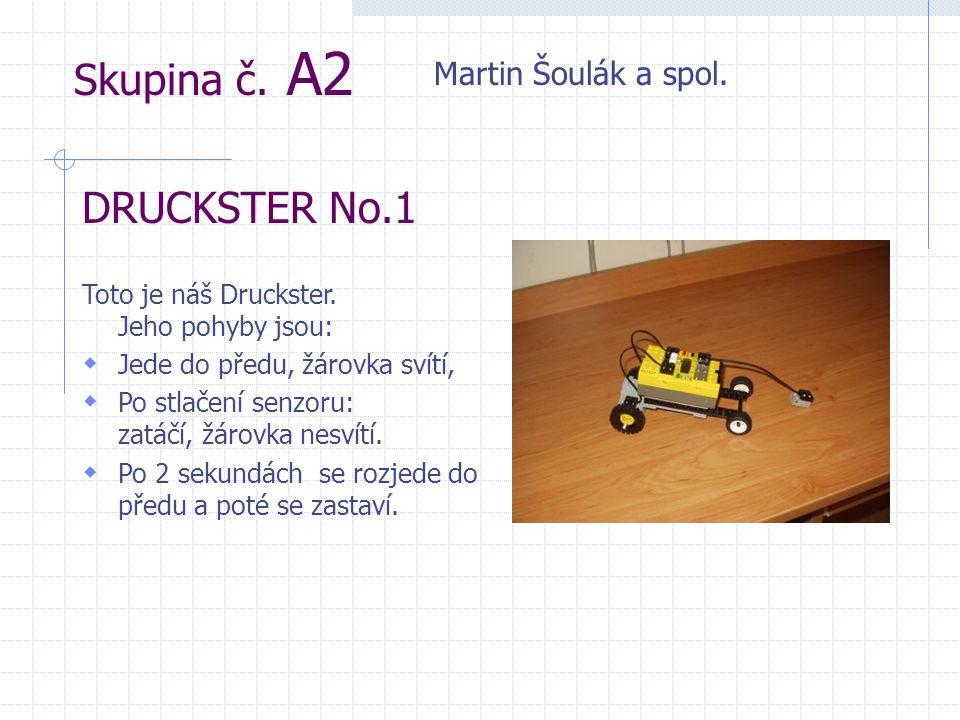 Skupina č. A2 DRUCKSTER No.1 Martin Šoulák a spol.