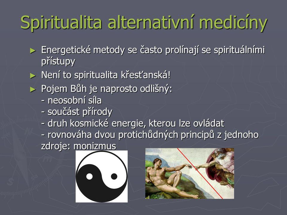 Spiritualita alternativní medicíny