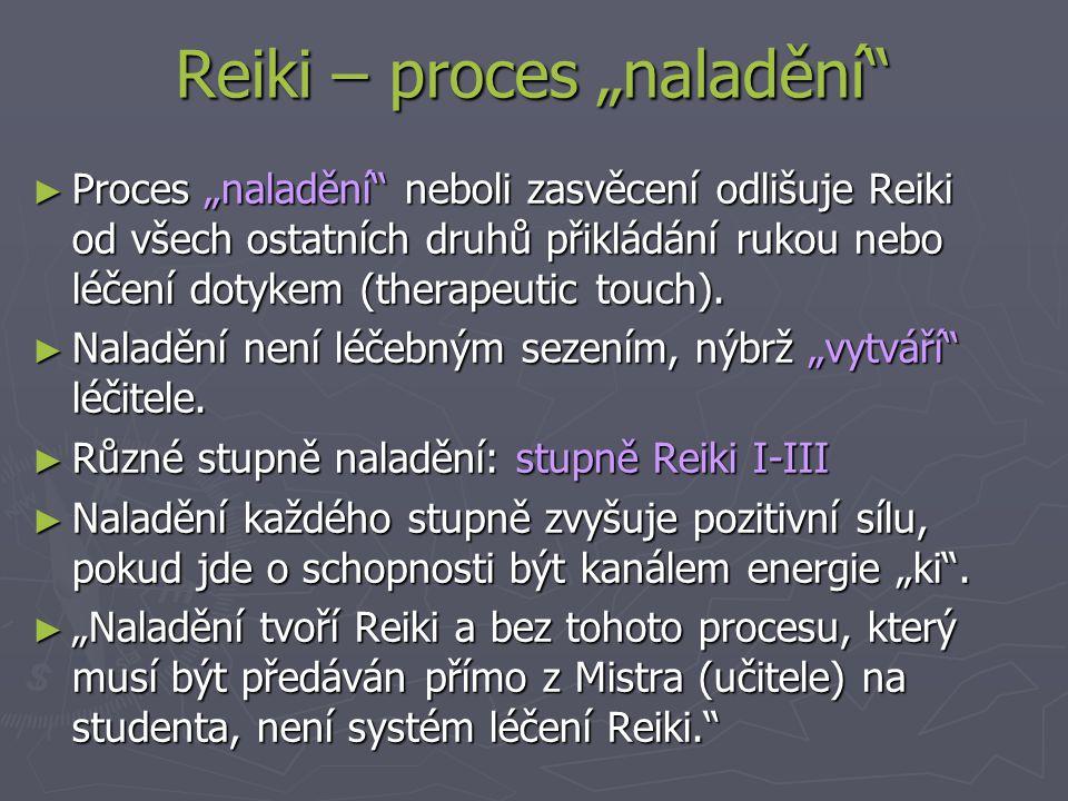 """Reiki – proces """"naladění"""