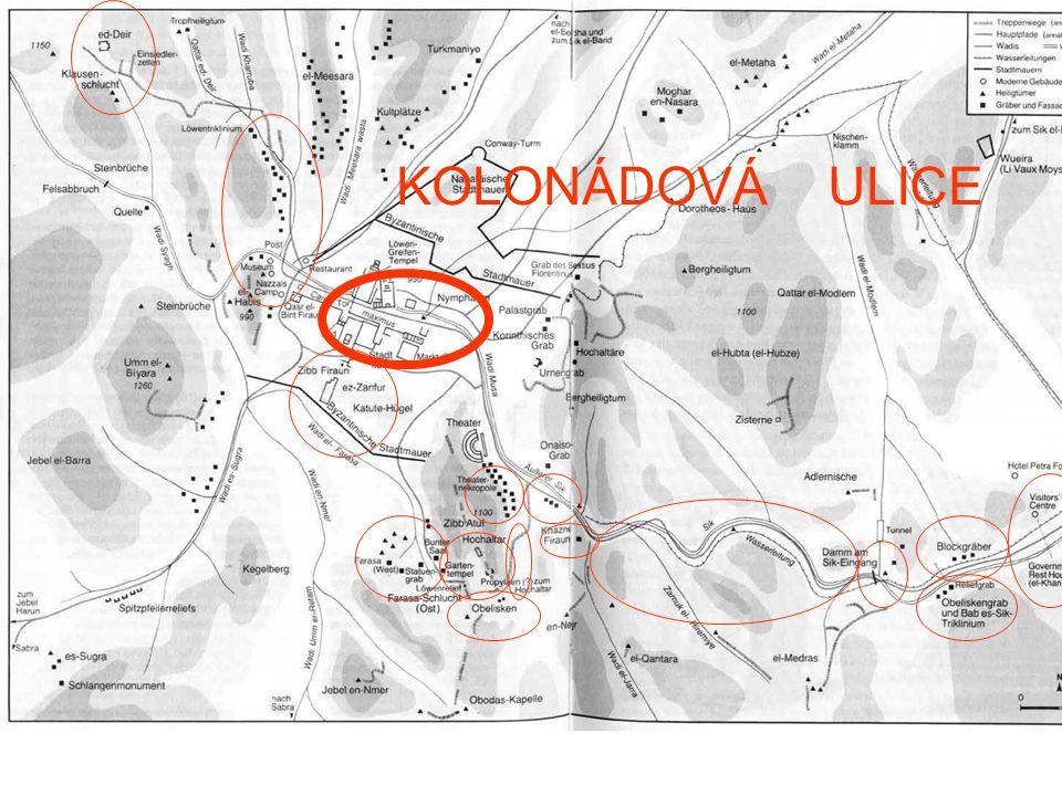 KOLONÁDOVÁ ULICE