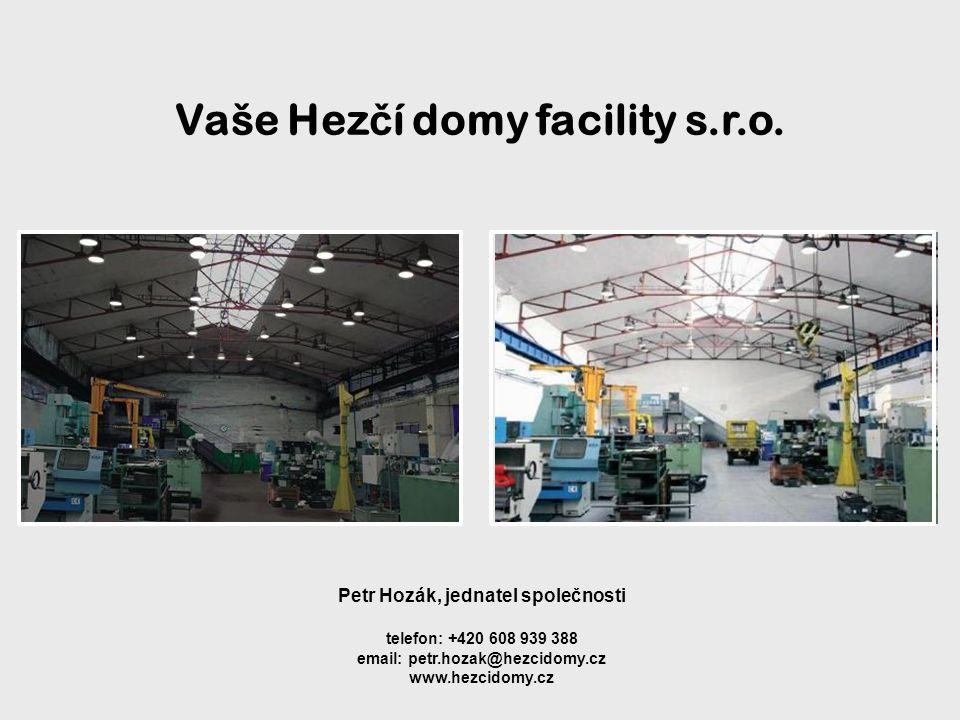 Vaše Hezčí domy facility s.r.o.