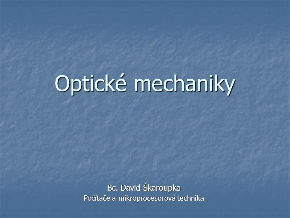 Bc. David Škaroupka Počítače a mikroprocesorová technika