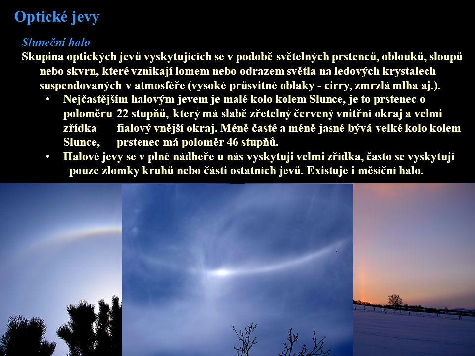 Optické jevy Sluneční halo
