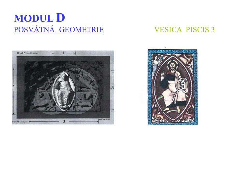 MODUL D POSVÁTNÁ GEOMETRIE VESICA PISCIS 3