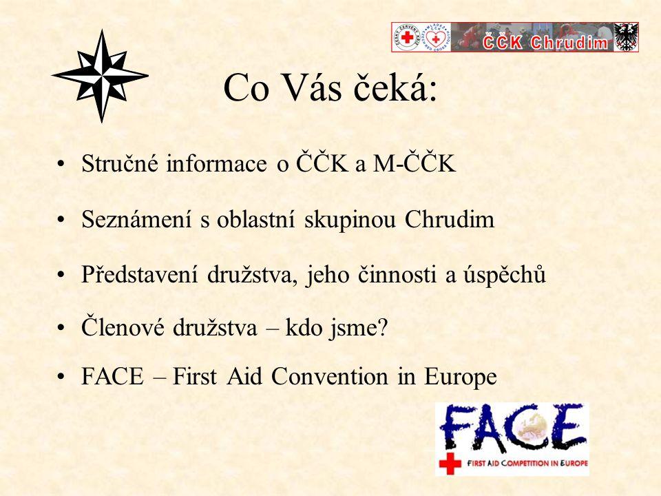 Co Vás čeká: Stručné informace o ČČK a M-ČČK