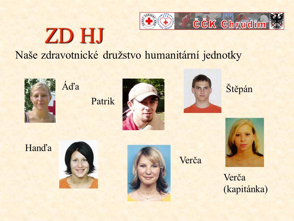 ZD HJ Naše zdravotnické družstvo humanitární jednotky