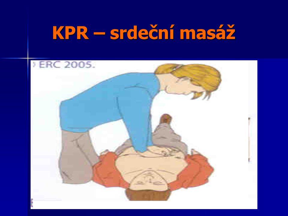 KPR – srdeční masáž Jak nezvedat ruce z hrudníku