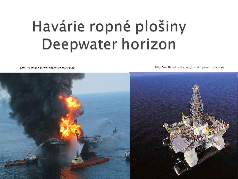 Havárie ropné plošiny Deepwater horizon