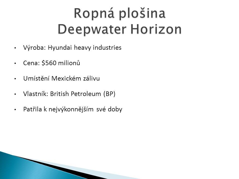 Ropná plošina Deepwater Horizon