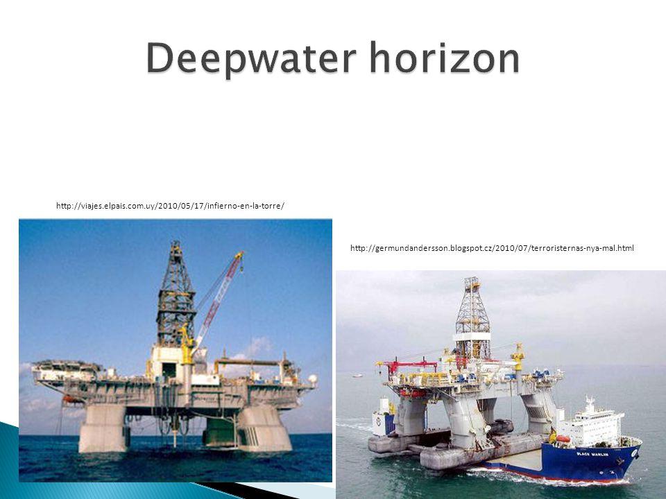 Deepwater horizon http://viajes.elpais.com.uy/2010/05/17/infierno-en-la-torre/