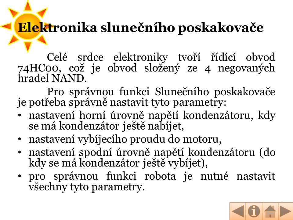 Elektronika slunečního poskakovače