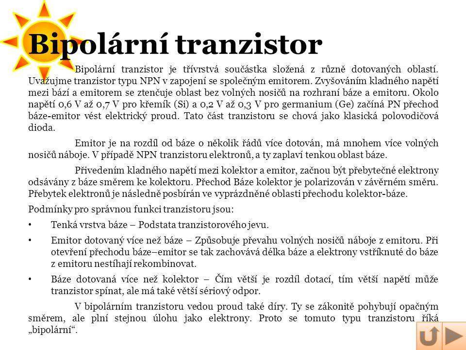 Bipolární tranzistor