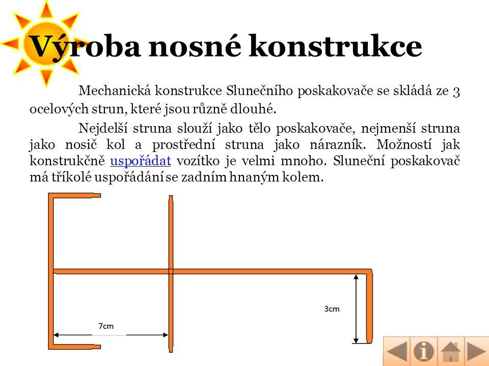 Výroba nosné konstrukce