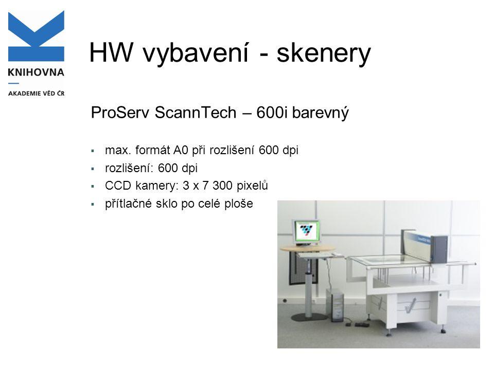 HW vybavení - skenery ProServ ScannTech – 600i barevný
