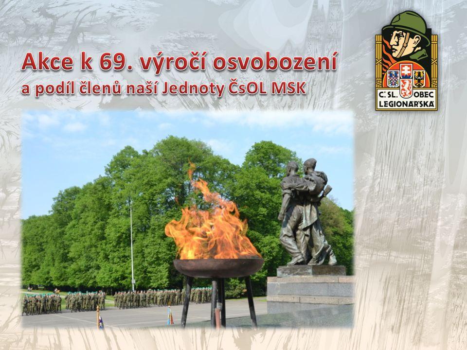 Akce k 69. výročí osvobození