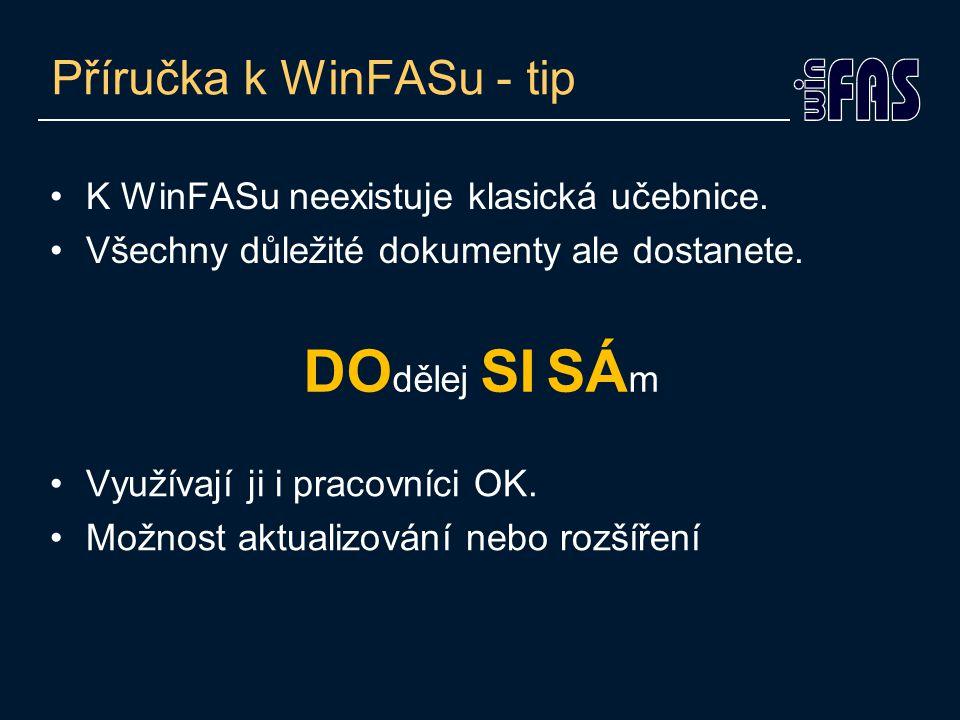 Příručka k WinFASu - tip