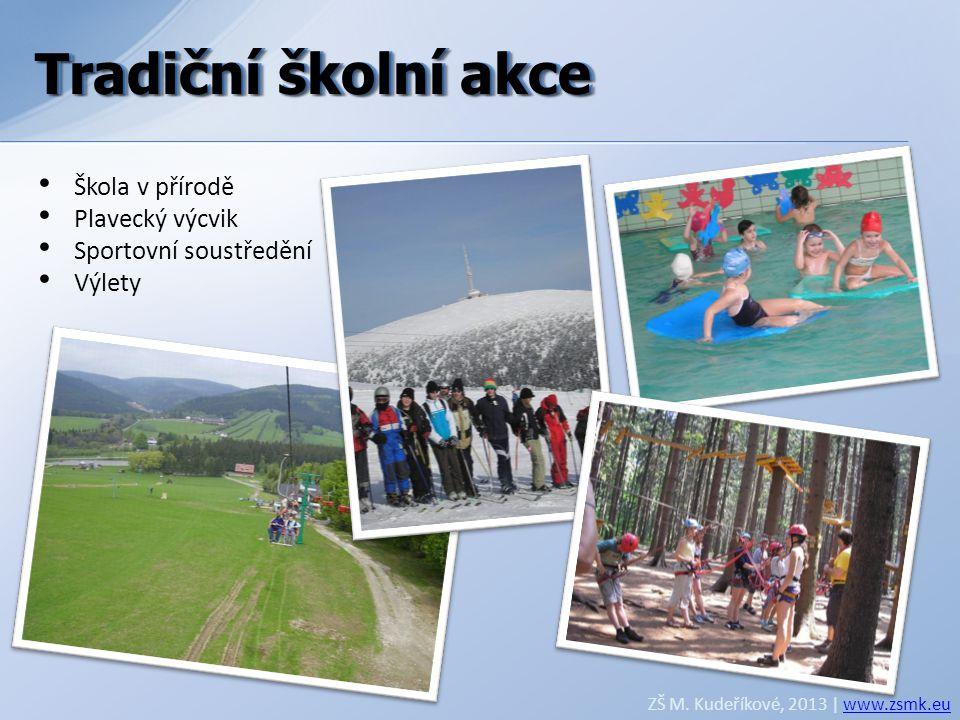 Tradiční školní akce Tradiční školní akce Škola v přírodě