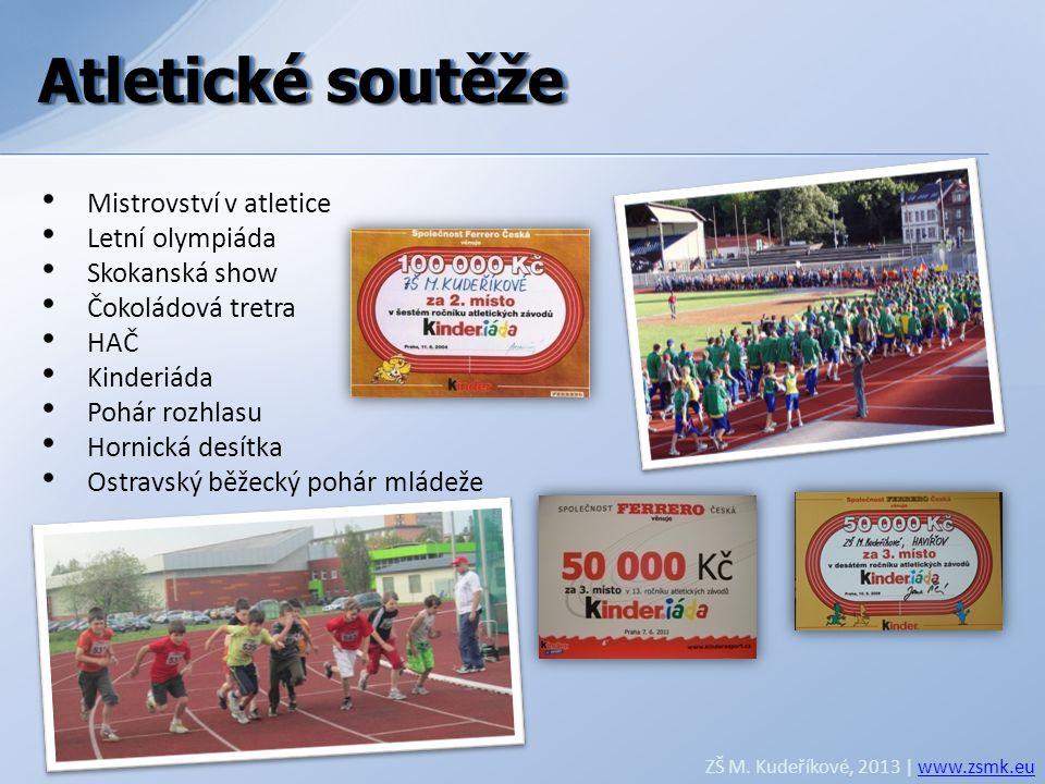 Atletické soutěže Atletické soutěže Mistrovství v atletice