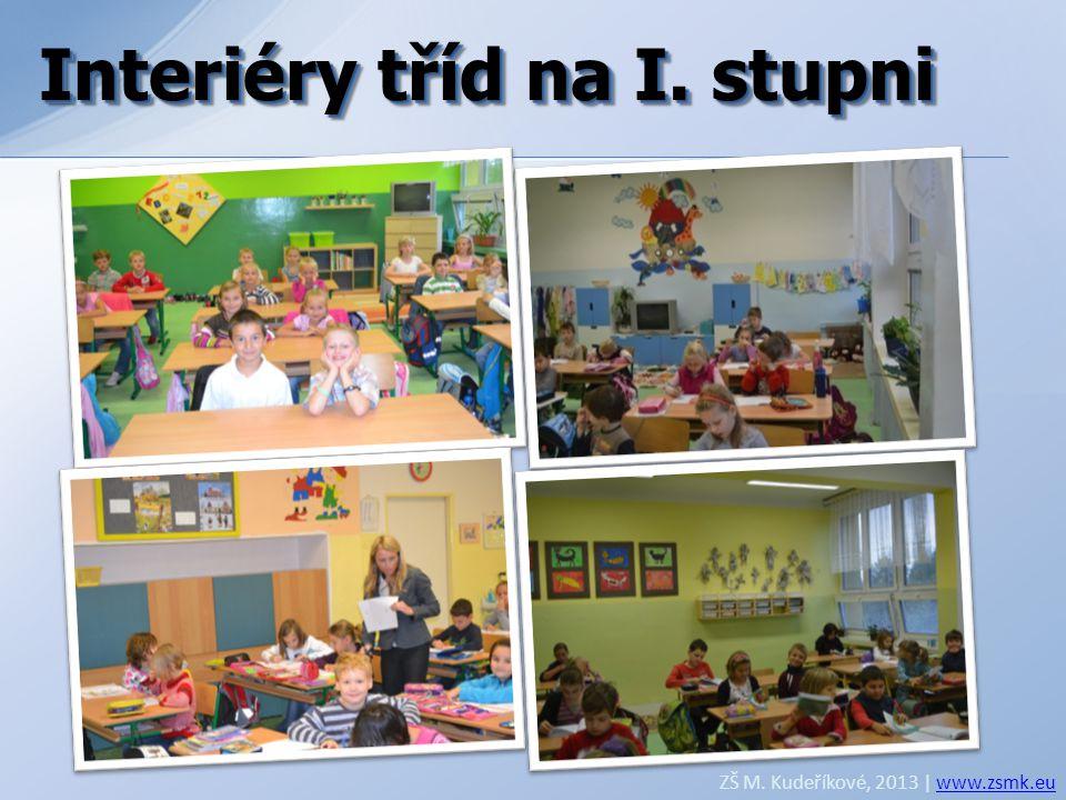 Interiéry tříd na I. stupni Interiéry tříd na I. stupni