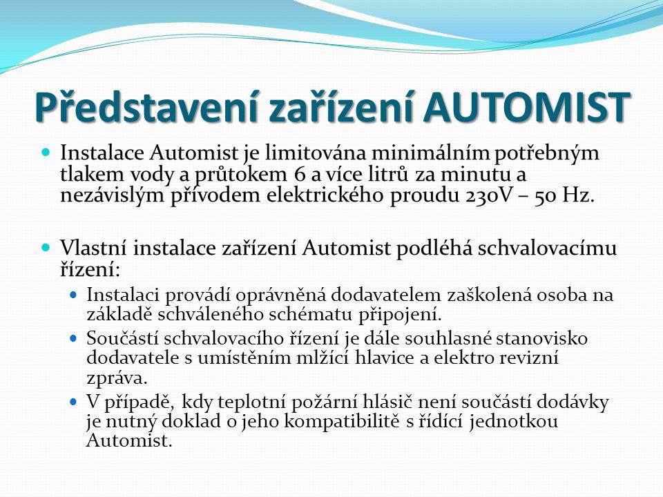 Představení zařízení AUTOMIST