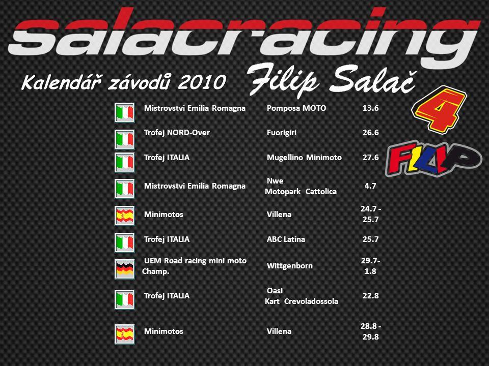 Kalendář závodů 2010 Mistrovstvi Emilia Romagna Pomposa MOTO 13.6