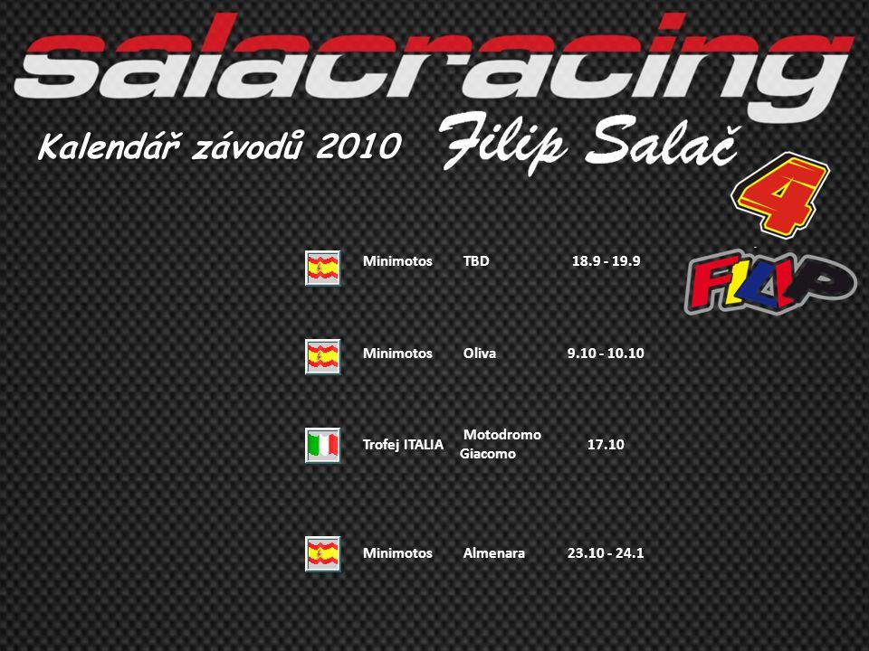 Kalendář závodů 2010 Minimotos TBD 18.9 - 19.9 Oliva 9.10 - 10.10