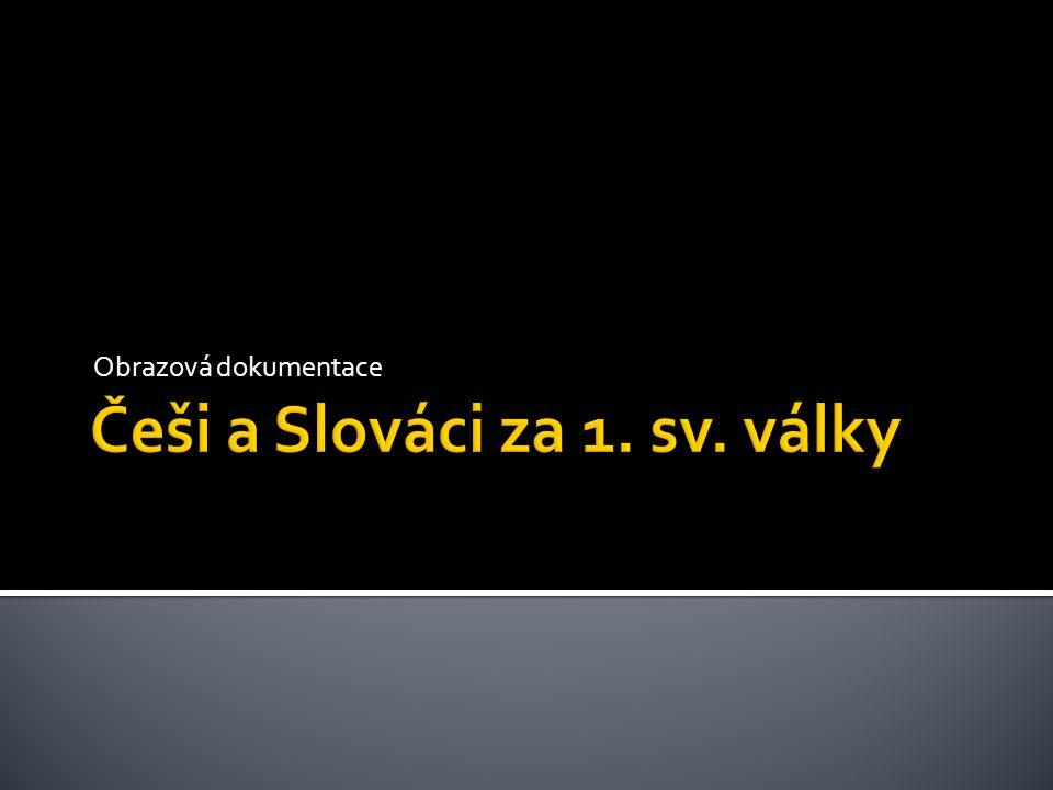 Češi a Slováci za 1. sv. války