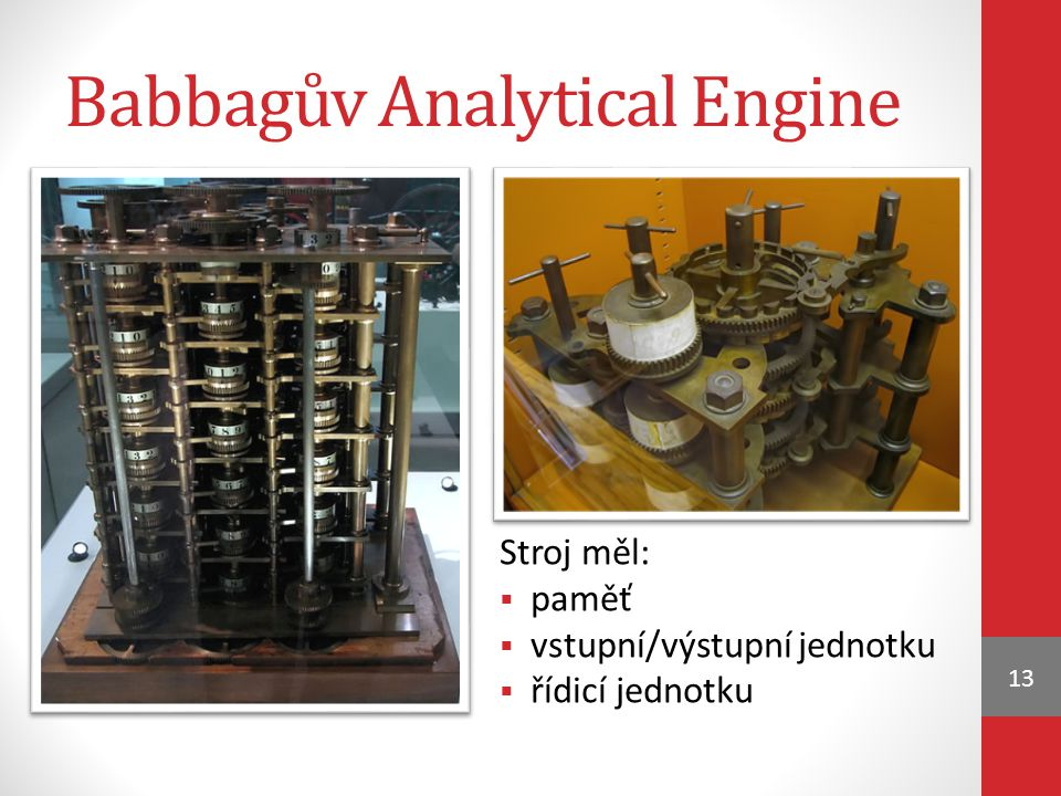 Babbagův Analytical Engine