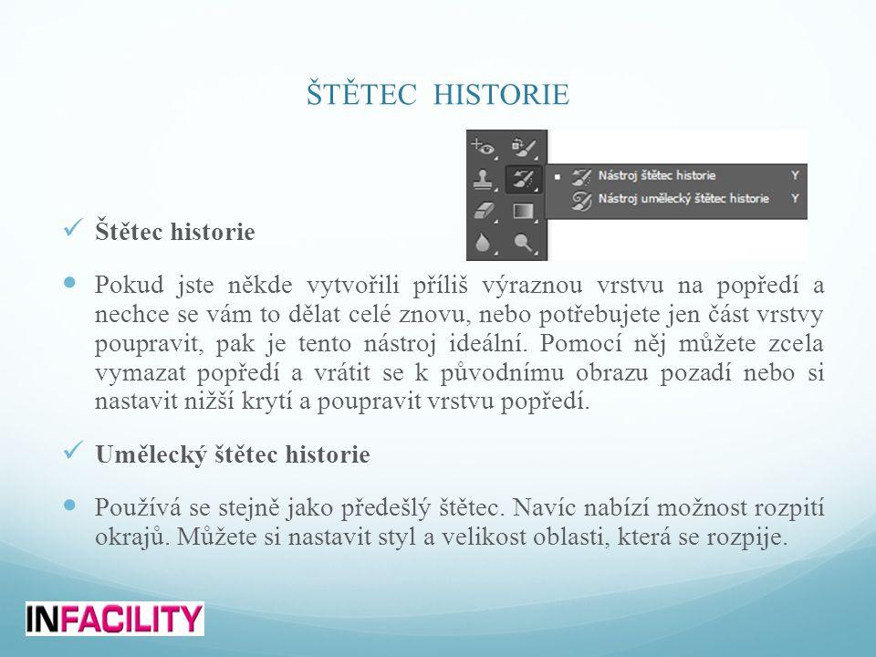 ŠTĚTEC HISTORIE Štětec historie