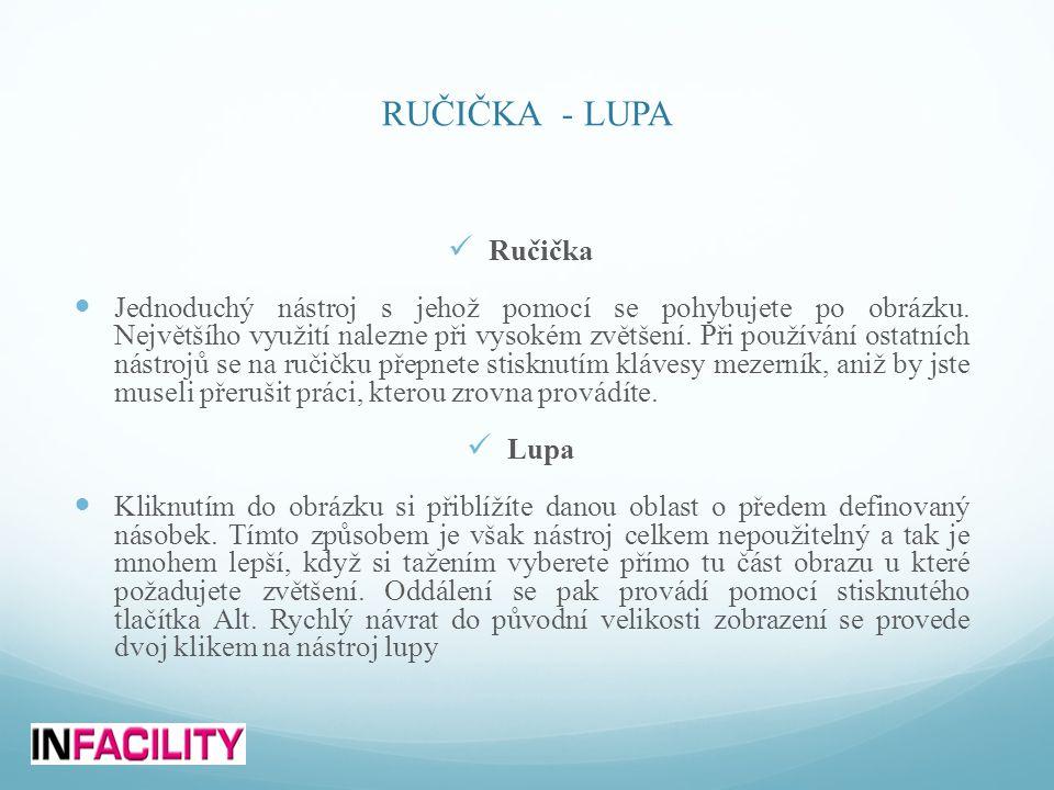 RUČIČKA - LUPA Ručička.