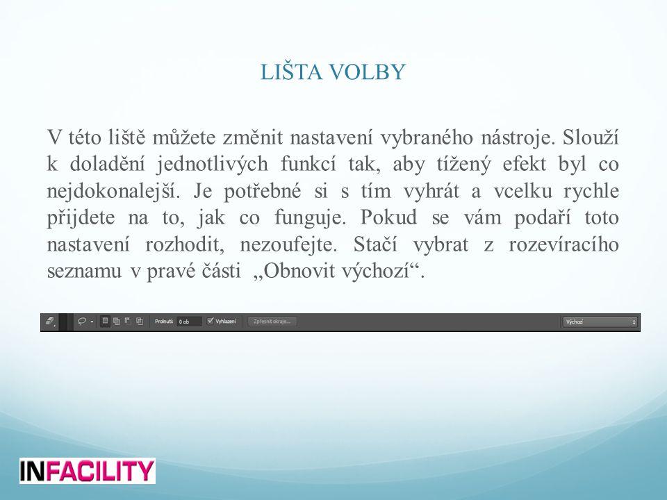 LIŠTA VOLBY