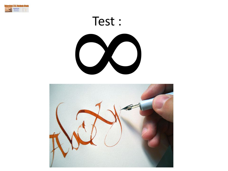 Test :